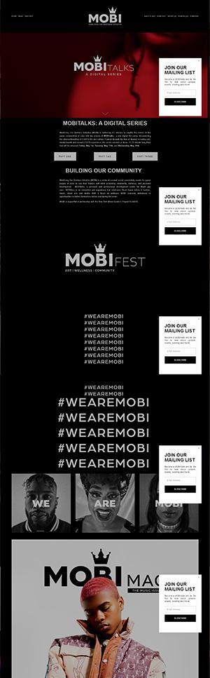 Mobi Webpage preview